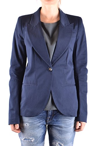 Pinko Femme MCBI242284O Bleu Coton Blazer