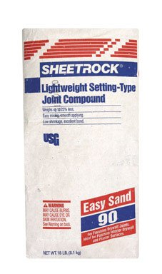 Type Joint Compound - Sheetrock Setting-Type Joint Compound- 90 18 Lb Sand 90 Min