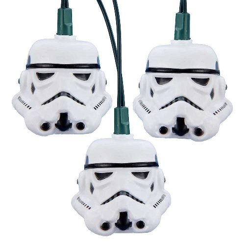 Kurt S. Adler 10-Light Star Wars Stormtrooper Light Set, 2 Pack