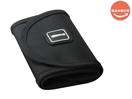 Tie Roll (Necktie Case, Men Nylon Necktie Roll Travel Tie Case Tie Holder Storage Roll Tie Case Black US-HB007-S (Black))