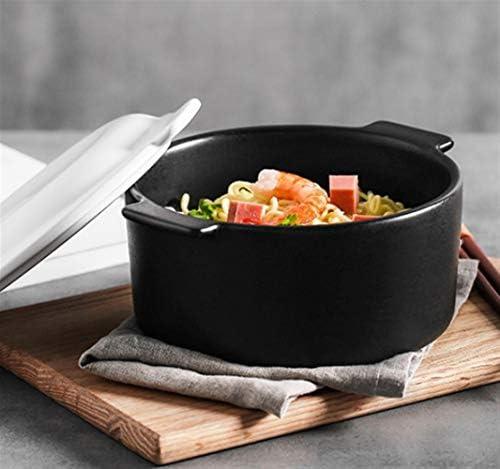 Poêles TongN Mini nouilles instantanées Pot, ustensiles de cuisine en céramique, Flamme ouverte 1000ml