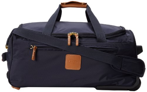 Bric's Luggage X-Bag 21 Inch Carry On Rolling Duffle, Navy, One Size by Bric's