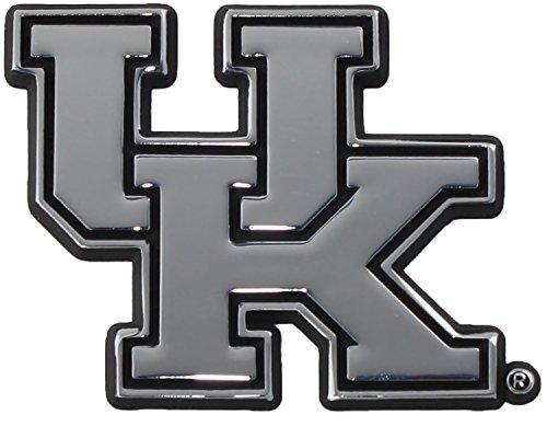 (University of Kentucky Wildcats Chrome Plated Premium Metal Car Truck Motorcycle Emblem)