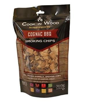 Cook en madera Cognac barbacoa Chips 360 g