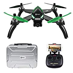 Specifications: Model: F20 Item Name: RC Quadcopter Color: Black/Green Wheelbase: 9.85in / 250mm Motor: MT 1806 1800KV brushless motor Camera: 1080p 5 GHz WiFi Camera Functions: Up/down, Turn Left/Right, Forward/Backward, Sideway Flight, Head...