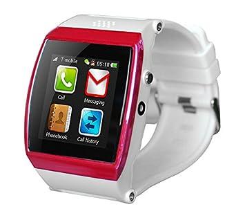 Infiniton nWatch-03 SIM - relojes inteligentes (128 MB, Ión de litio, 350 mAh, 4,35 cm, 5,05 cm, 1,3 cm): Amazon.es: Electrónica