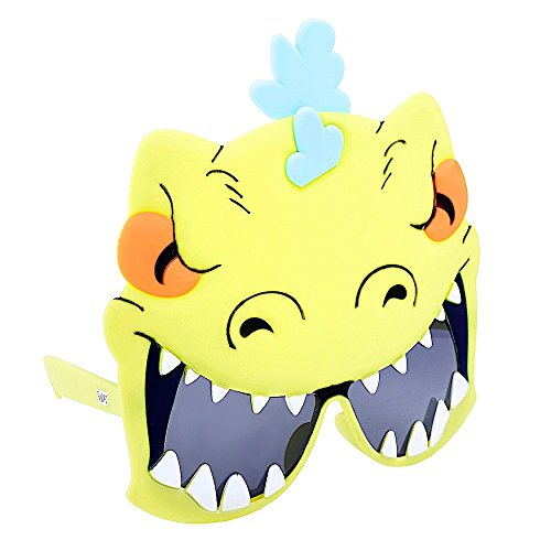 Sun-Staches Costume Sunglasses Rugrats Reptar Party Favors UV400]()
