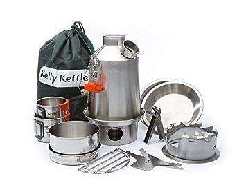 Ultimativ Scout Kelly Kettle Zelten Kit Edelstahl Guter Preis