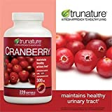 TruNature Cranberry 300 mg with Shanstar Concentrated Extract – 220 Softgels, Health Care Stuffs
