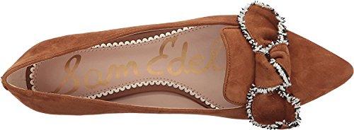 Suede Flat Leather Women's Luggage Sam Ballet Rochester Kid Edelman pqIg5w8W0