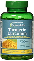 Image of the product Puritans Pride Turmeric that is listed on the catalogue brand of Puritan's Pride. With an score of 4.0.