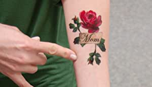 Crush image with printable tattoo paper