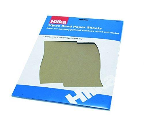 Hilka 68901510 Sandpaper Sheet Set by Hilka Review