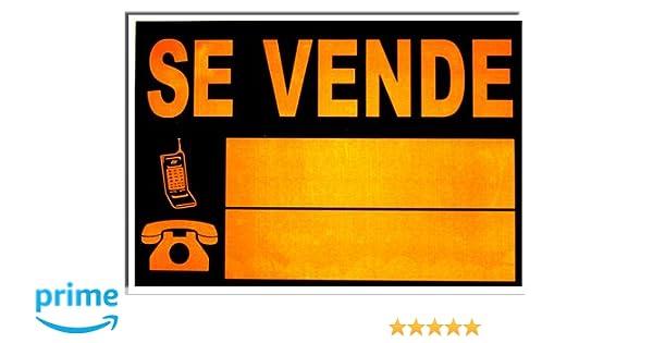 Bakerlin - Cartel se vende 50x70 G: Amazon.es: Bricolaje y ...
