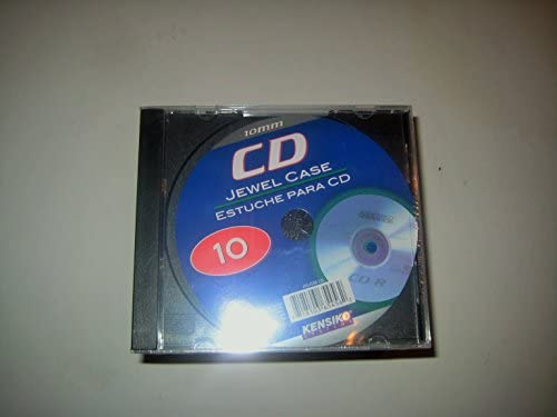 Amazon.com: Kensiko 10mm CD Jewel Case 10 Pack: Car Electronics