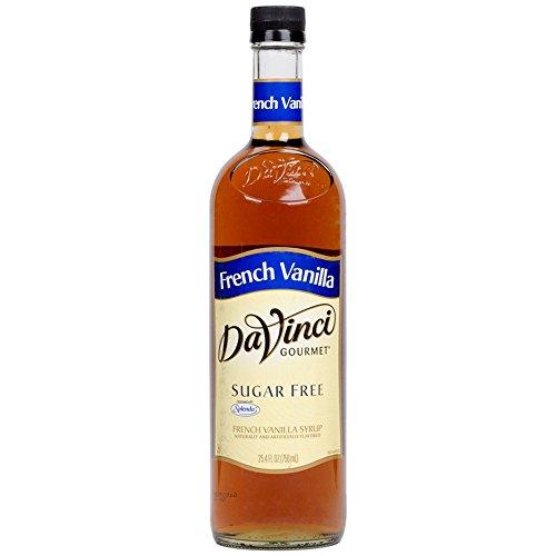DaVinci Gourmet French Vanilla Sugar Free Syrup 25.4 FL OZ.