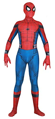 Riekinc Halloween Spandex Full Bodysuit Superhero Cosplay Costume Adult/Kids