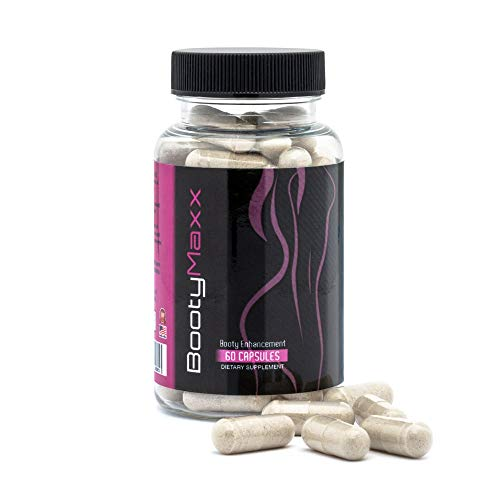 Booty Maxx: Booty Enhancement Pills - Booty Enlargement, Booty Lifter and Cellulite Reducer, Cellulite Remover | Booty Supplement, Natural Buttocks Shaping | Hip Enhancer | Firming and Tightening |
