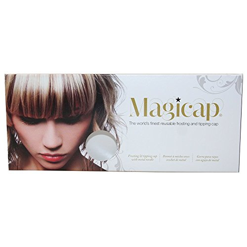 MAGICAP Pro Salon Silicon Hairdressing Highlighting Frosting Cap & FREE Hook