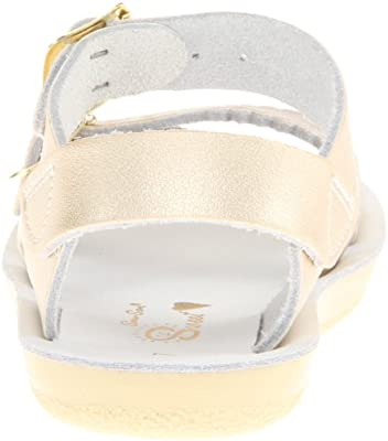 NEW LITTLE KIDS SALTWATER SANDAL SWEETHEART GOLD 1420 SUN-SAN BY HOY SHOES