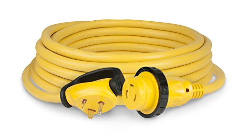 Marinco Park Power 0310.2564 (50SPPRV) 30A Locking PowerCord Plus Cordset with RV Plug