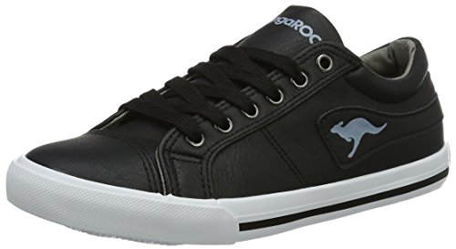 Low Black WoMen Black 5054 S Sneakers Kangaroos Vulca K Top zFq8X1