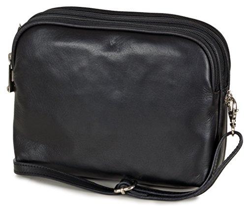Taschenloft, Borsa a tracolla donna 20 x 16 x 9 cm nero