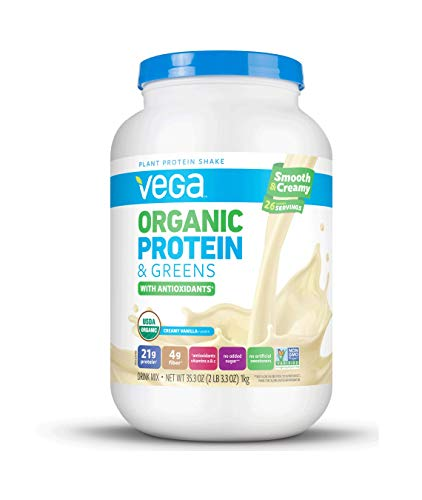Vega Organic Protein Powder Vanilla, 2.2 Pound ()