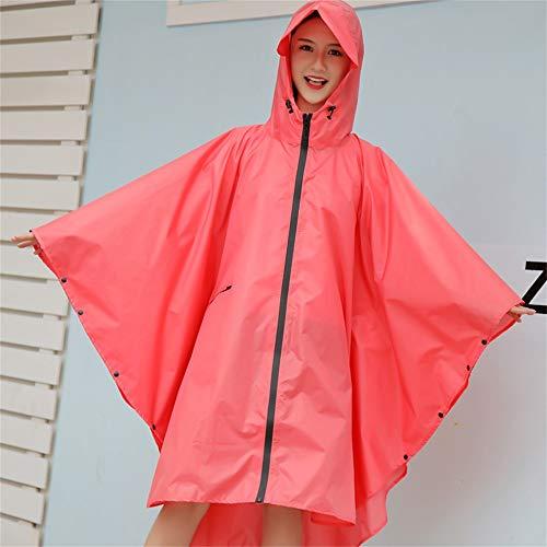 Section color Coloré Mode Red vent Air Rose Plein Voyage Geyao Point Size L Red Mince Et Longue Imperméable En Coupe Respirante SZwqI