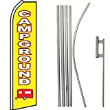 Campground Super Flag & Pole Kit