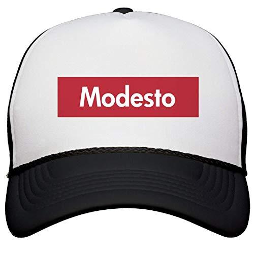 DJIEZI Cool Supreme Modesto Pride Hat: Snapback Trucker Hat -