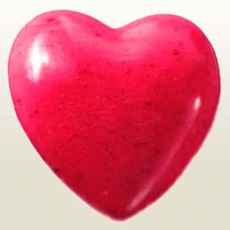 Saling, Schafmilchseife Herz rot, 1 Stück 1 Stück