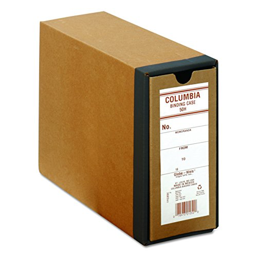 Box Globe (Globe-Weis B50H COLUMBIA Recycled Binding Cases, 3 1/8