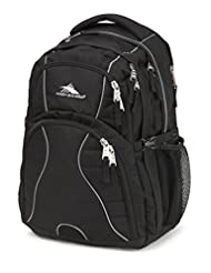 High Sierra 53665-1041 Swerve Backpack, Black
