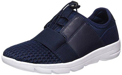 s.Oliver Damen 24610 Sneakers Blau (NAVY COMB. 891)