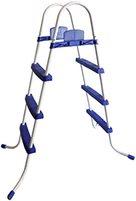 Escalera piscina Bestway Steel Pro, 106,68 cm: Amazon.es: Jardín
