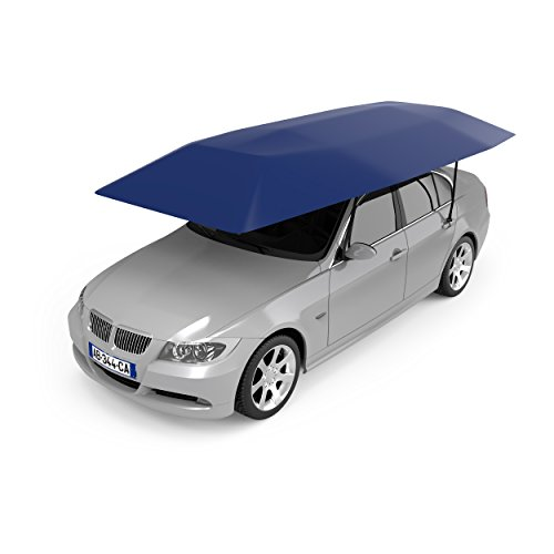 Nogis Automatic Car Umbrella Folded Portable Car Tent Sun Shade Canopy Cover with Remote Control, Dark Blue by Nogis