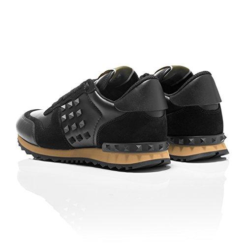 homme mode Valentino Noir Baskets noir pour tv5p5