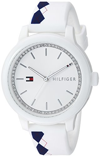 Tommy Hilfiger Women's 'EVERYDAY SPORT' Quartz Resin and Silicone Casual WatchMulti Color (Model: 1781812)