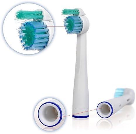 8 uds (2x4) de cabezales de recambio para cepillos de dientes E ...