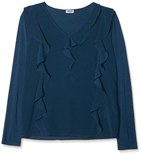 94121 Jo Klelya Maglietta A Oltreoceano blue Jeans Blu Maniche Liu Lunghe Donna PAxUSS