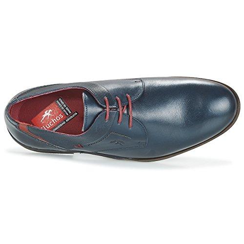 9684 Azul MEPM Fluchos De Piel Azul Zapato IwqU6gxaq