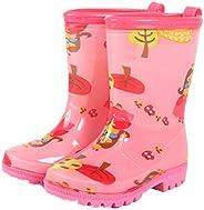Toddler Rain Boots Girls Kids Boys Waterproof Cartoon Anti-Slip Rain Shoes Wear