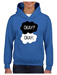 Xekia Okay? Okay The Fault In Our Stars Hoodie For Girls and Boys Youth Kids