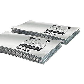 Safescan tarjetas de limpieza - Para detectores de billetes falsos: Amazon.es: Oficina y papelería