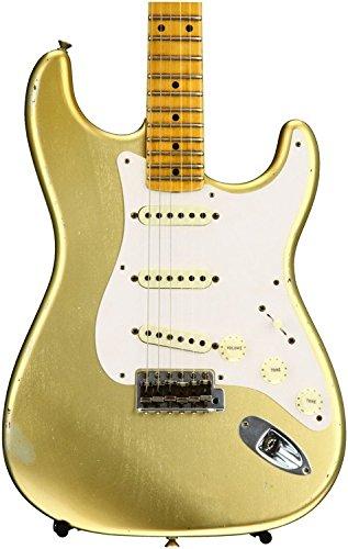 Fender Custom Shop 1957 Time Machine Relic Stratocaster - HLE Gold (Fender Stratocaster Relic compare prices)