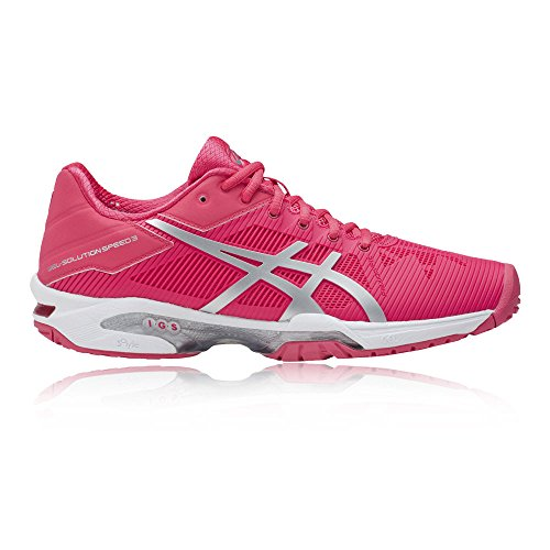 Speed Pink 3 Blau 38 Damen EU Tennisschuhe Solution Asics Gel vtSnw6