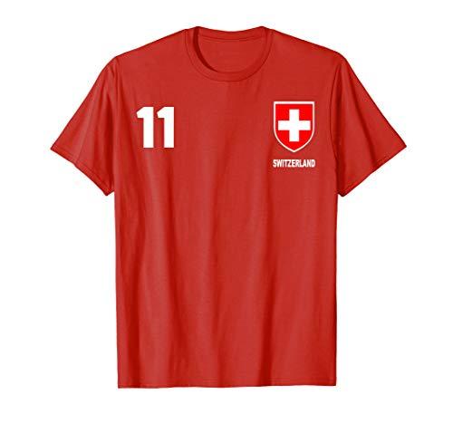 Switzerland Swiss Football Soccer Jersey Shirt