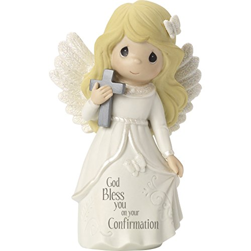 Precious Moments Confirmation Angel Bisque Porcelain Figurine ()