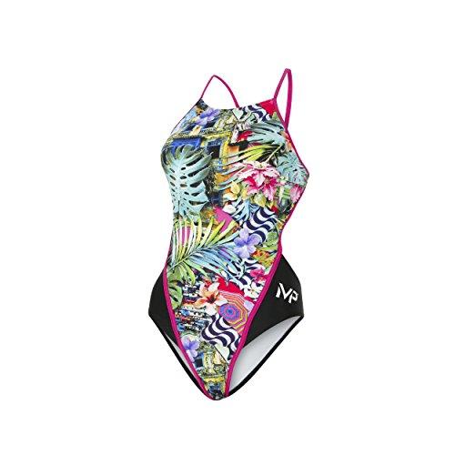 MP Michael Phelps Mujer Florez parte trasera abierta Bañador, mujer, Florez Open Back, Florez Open Back Florez Open Back